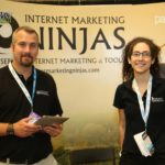 Booth ninjas from Internet Marketing Ninjas