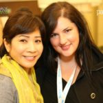 Jenise Henrikson of Alpha Brand Media and Olivia Longley of Searchmetrics