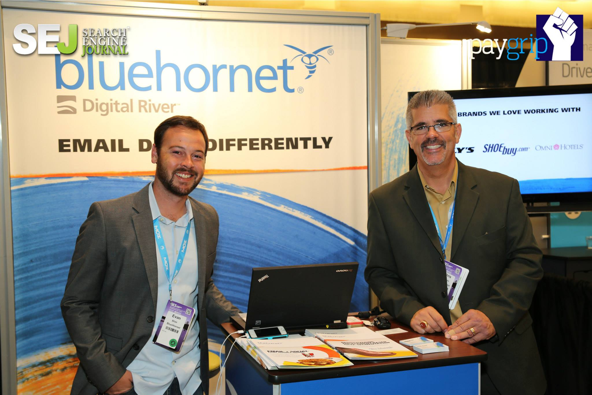 Bluehornet booth