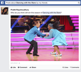 Users Can Now Search Facebook Graph For Status Updates and Posts