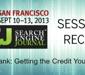 SEJ at SES San Francisco: Author Rank Session Recap #SESSF