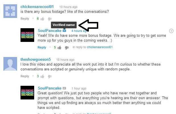 Google+ Now Used in YouTube Comments
