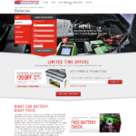 Firestone Complete Auto Care Batteries Landing Page