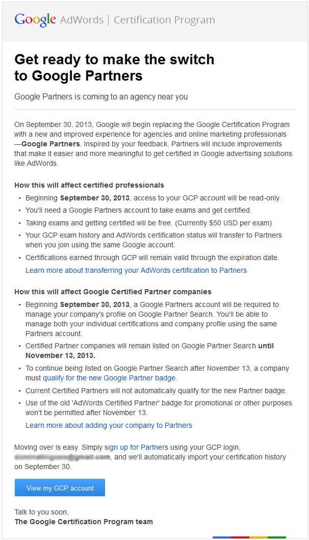 GCP_Changes_Email