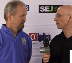 How Social Signals Enhance Online Authority: Interview With Eric Enge At #Pubcon 2013
