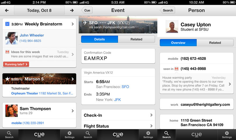 Apple Reportedly Acquires Personal Assistant App Cue for $40M