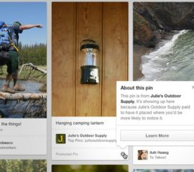 Pinterest Promoted Pins Launch Today