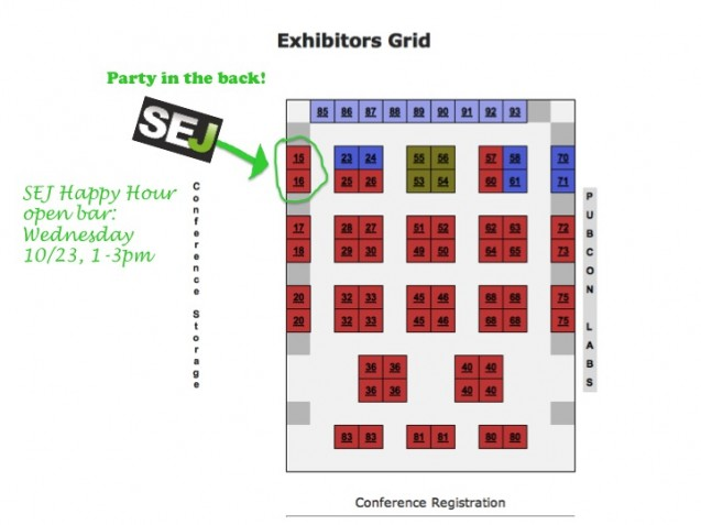 Pubcon Expo Hall hours: 10/22-23, 9:45am to 3pm