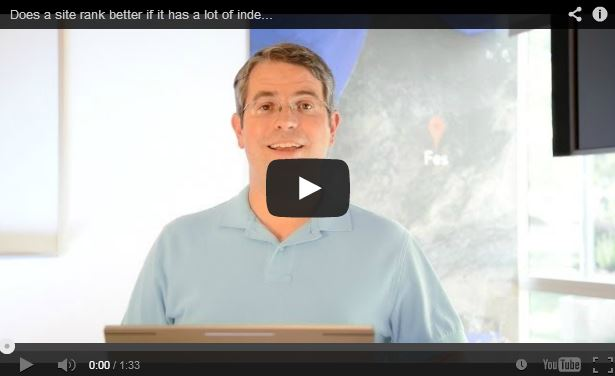 Matt Cutts: More Indexed Pages Doesn't Always Equal Better Rank