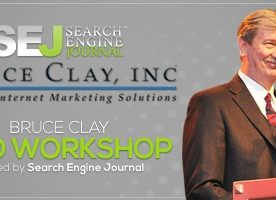 Half-Day SEO Workshop in San Francisco by Bruce Clay [GIVEAWAY]