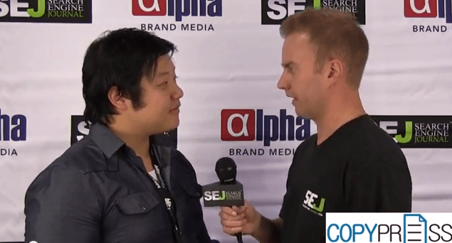 Getting Your Content Shared On Social Media: Interview With David Zheng At #Pubcon 2013