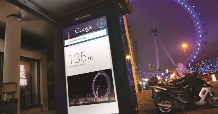 Google Debuts New Internet Information Kiosks in London