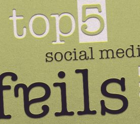 Top 5 Social Media Fails of 2013
