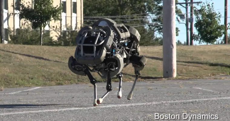 Google Acquires Military Robot-Maker Boston Dynamics