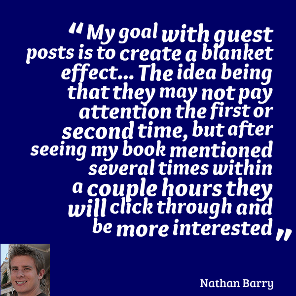 guest blogging Nathan Barry