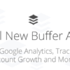 Buffer Adds Google Analytics Integration and More to 'Buffer For Business' Plans