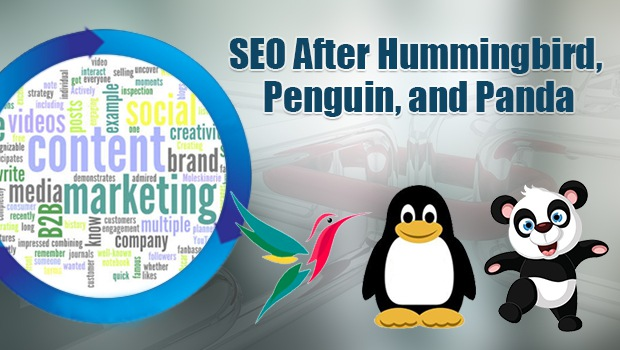 SEO After Hummingbird, Penguin, & Panda: How Link Building & Content Marketing Are Really Changing