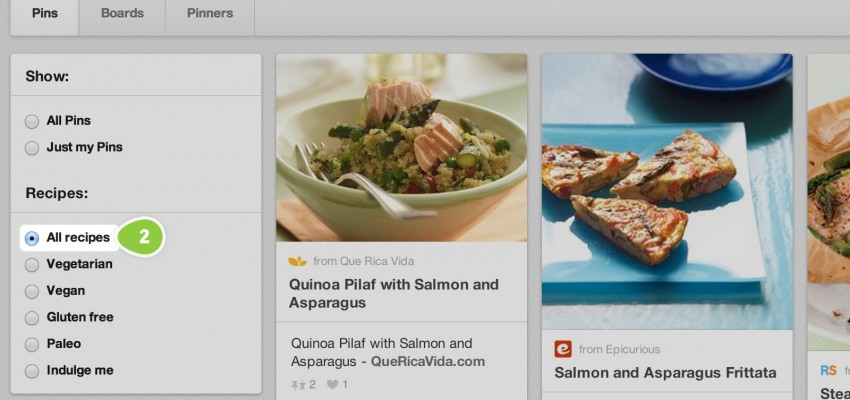 Pinterest Beefs Up Search Capabilities With More Efficient Way To Find Recipes