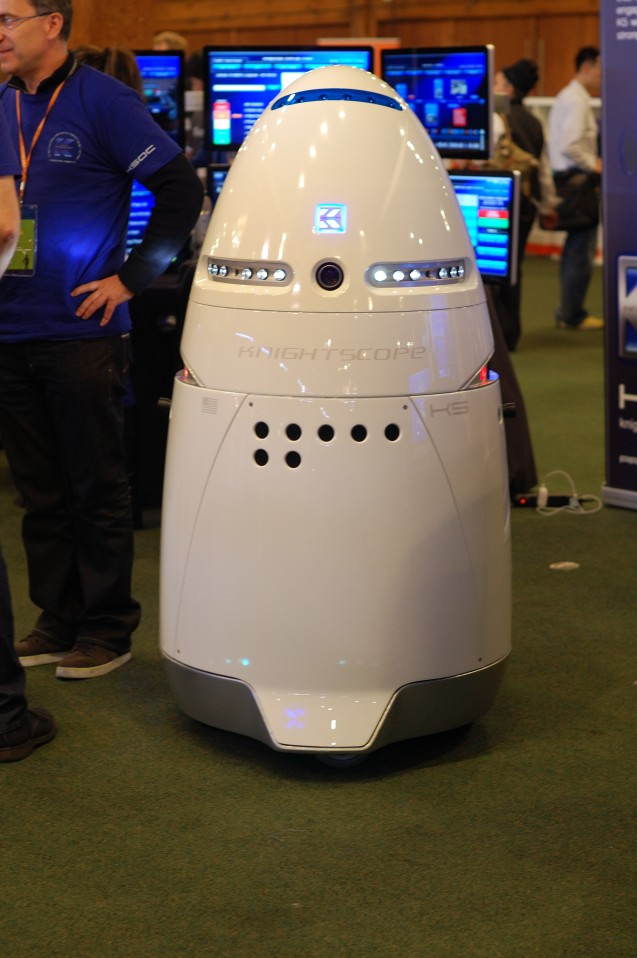 "Knightscope prototype""Autonomous robots that predict and prevent crime"""