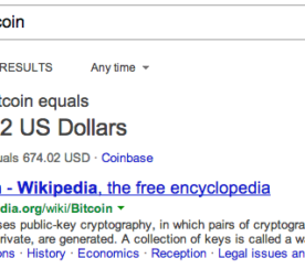 Bing Launches Bitcoin Conversion Tool