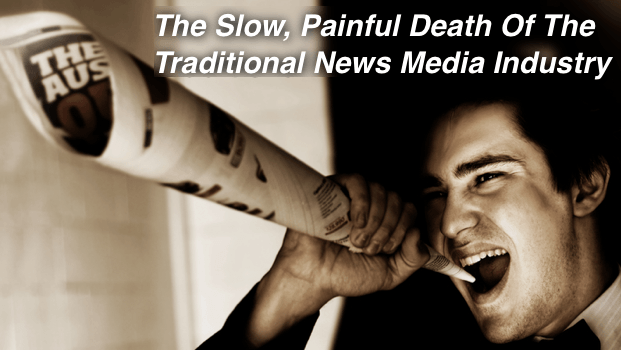 The Slow, Painful Death of the Traditional News Industry When It Comes to PR
