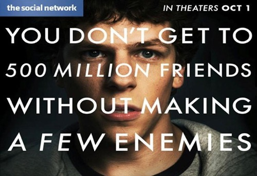 The Social Network, Facebook movie