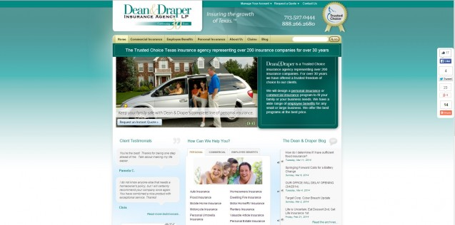 Dean and Draper Homepage