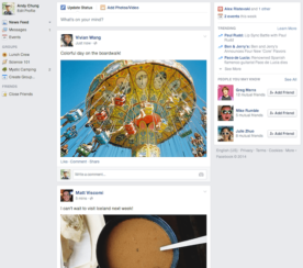 Facebook Unveils A News Feed Redesign Focused Around What Users Like