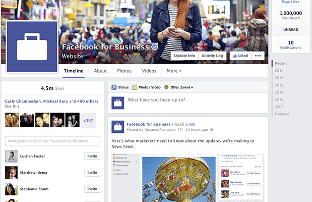 Facebook Introduces New Company Page Design, Featuring New 'Pages To Watch' Section
