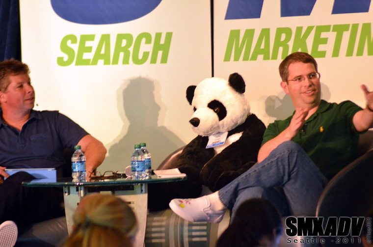 SMX Session Matt Cutts & Danny Sullivan