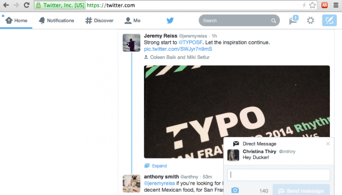 Twitter Adds Real-Time, Interactive Notifications To Desktop Version
