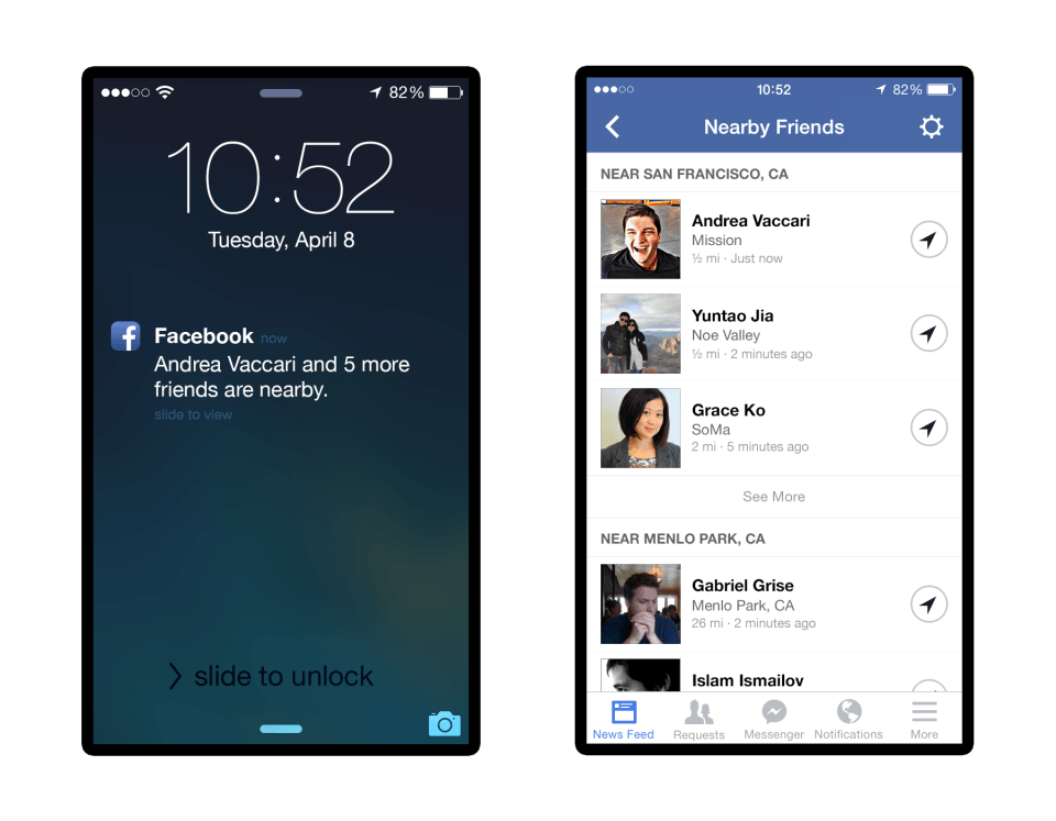 Facebook Introduces Feature To Help You Find Nearby Friends