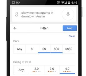 Google Revamps Restaurant Search For Android, What This Means For Marketers