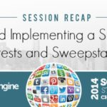 Developing and Implementing a Successful Social Media Contests and Sweepstakes Strategy SMSS Chicago 2014