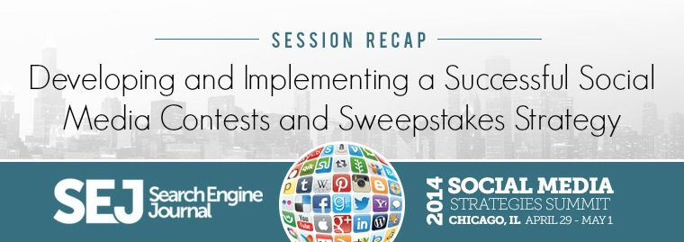 SMSSummit Recap: Implementing a Successful SMM Sweepstakes
