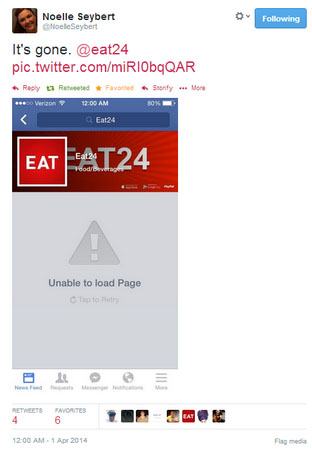 Eat24: Life Without Facebook