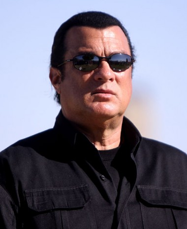 Steven Seagal In Sunglasses