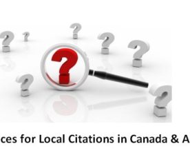 SEO 101: The Top 15 Places for Local Citations in Canada and Australia