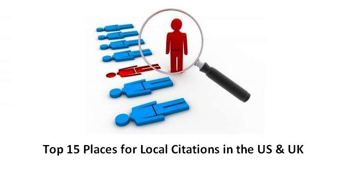 SEO 101: The Top 15 Places for Local Citations in the U.S. and the U.K.