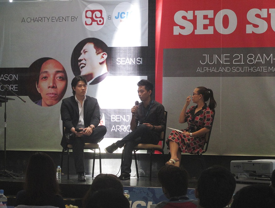 Jason Acidre at SEO Summit 2014