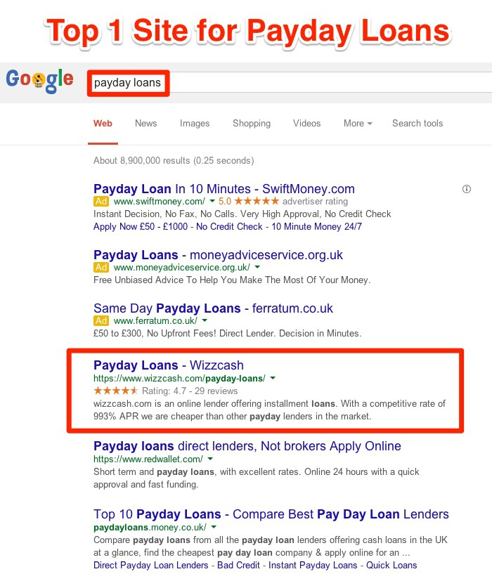 Did Google Finally Kill the SPAM from the SERPS? – Case Study