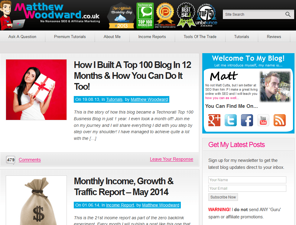 2014-06-03 13_20_35-Award Winning Internet Marketing Blog - Matthew Woodward