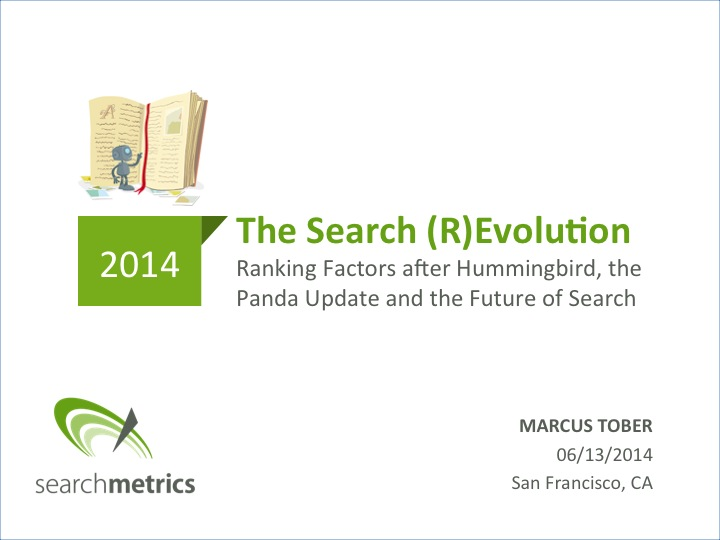 Searchmetrics Future of SEO
