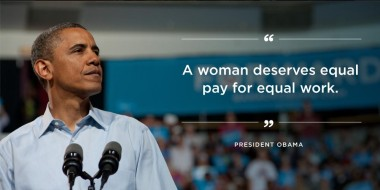 President Obama's Facebook Cover Image