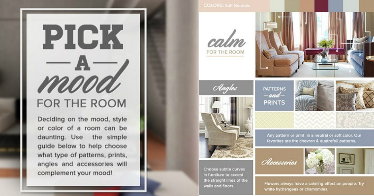 Pick a Mood for the Room Context Infographic