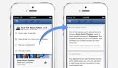 Facebook To Give Users More Control Over The Ads They See