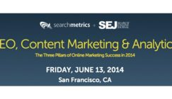Searchmetrics' Online Marketing Conference: AMA Panel Background