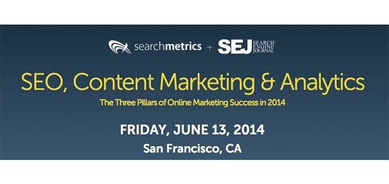 Sold Out: June 13 Searchmetrics x SEJ Executive Marketing Conference