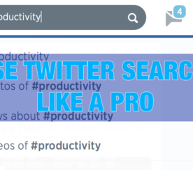 #HOWTO: Use Twitter Search Like a Pro