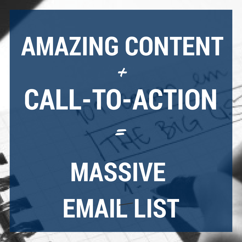 Email List-Building From the Experts: How to Grow a Massive Email List
